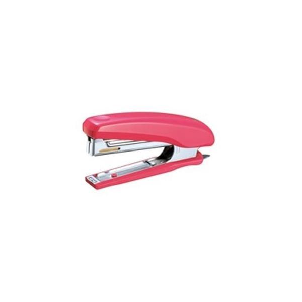 (業務用100セット) マックス ホッチキス HD-10D ピンク HD90023