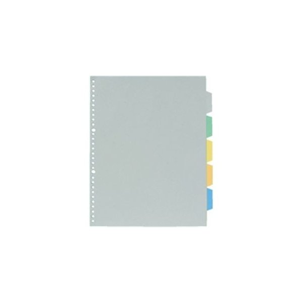 (業務用100セット) キングジム カラーインデックス/ファイル用仕切り 〔A4/多穴タイプ タテ型〕 30穴 7907P