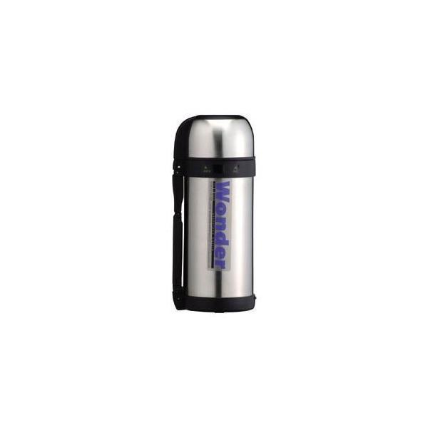 ワンダーボトル/水筒 〔1.5L〕 保温・保冷 コップタイプ 大容量サイズ ステンレス真空断熱構造