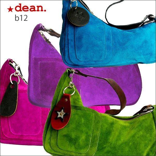 dean(ディーン) medium shoulder ハンドバッグ fuschia(ピンク)