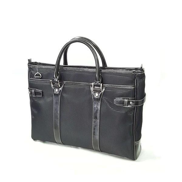 ビジネスバッグ 〔ブラック〕 H40×W35.5×D8cm