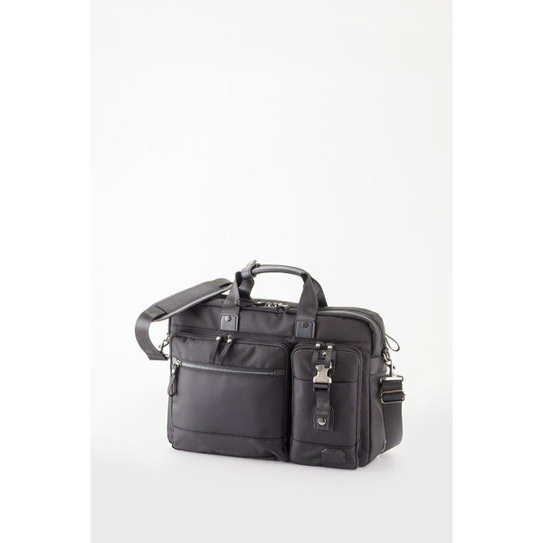 ビジネスバッグ/2WAYバッグ 〔ブラック〕 H42×W30×D9.5cm B4サイズ