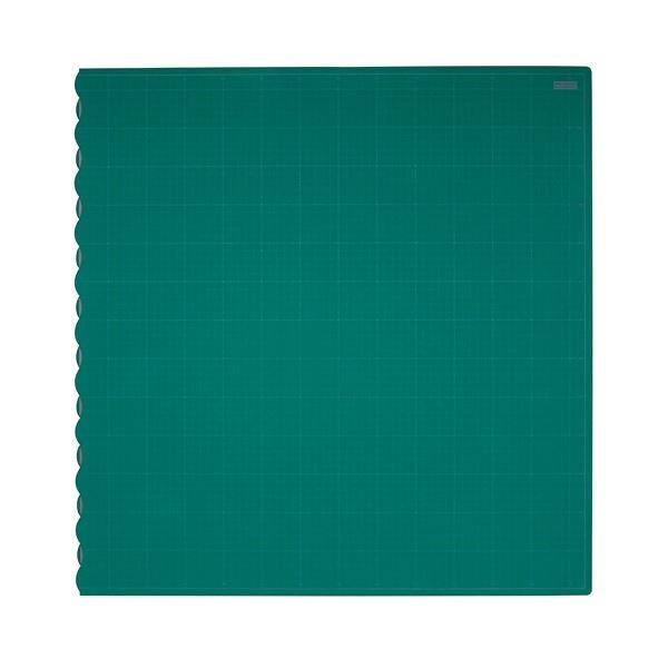 (まとめ)TANOSEE二つ折りデスクサイズカッターマット 690×1340mm 1枚〔×3セット〕
