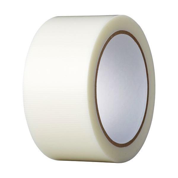 (まとめ)養生テープ 50mmx25m 透明〔×3セット〕