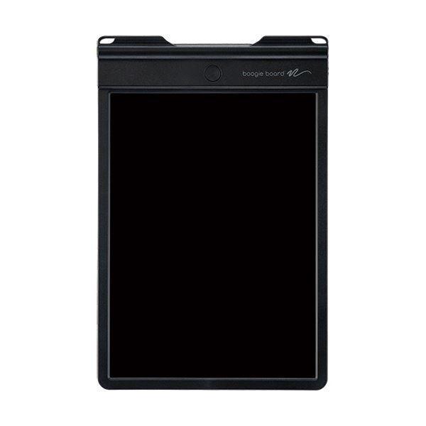 (まとめ)キングジム 電子メモパッド ブギーボード黒 BB-9 1台〔×3セット〕