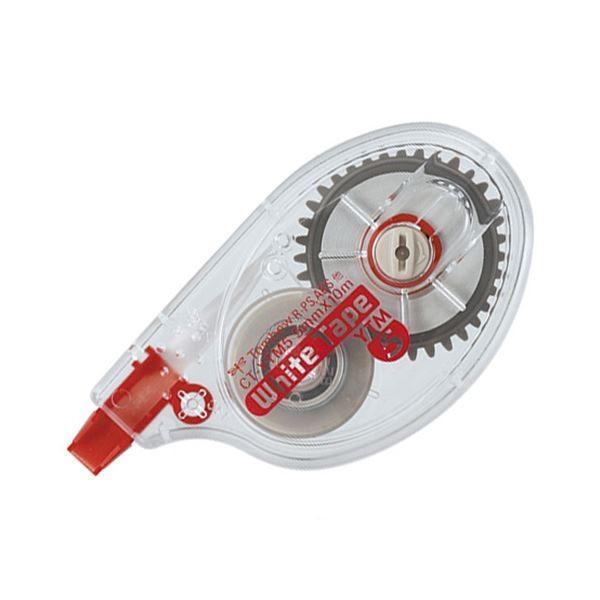 (まとめ) トンボ鉛筆 修正テープ モノYTM55mm幅×10m CT-YTM5 1セット(10個) 〔×10セット〕