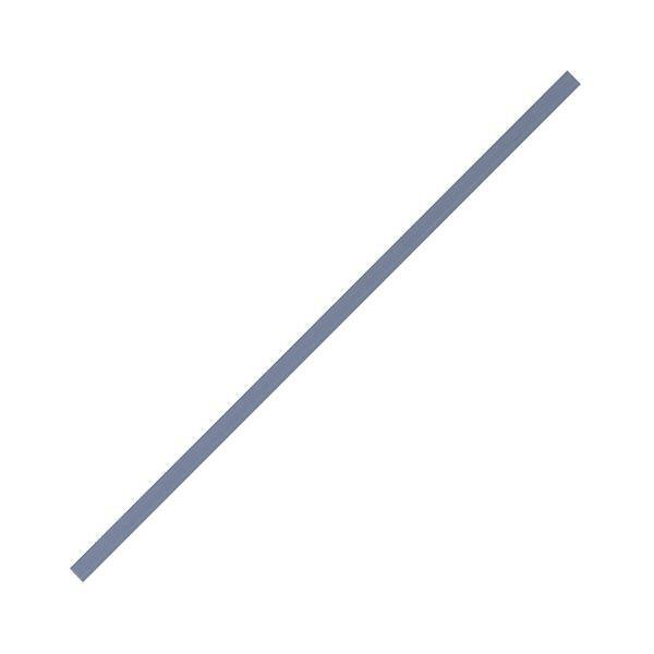 (まとめ) コクヨ ペーパーカッター用 刃受け DN63用 DN-600E 1パック(5枚) 〔×10セット〕
