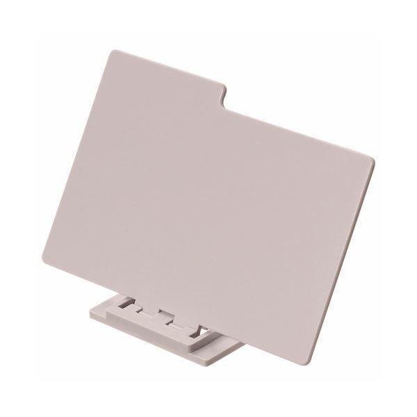 (まとめ) ライオン事務器 名刺整理箱仕切板No.150用 灰色 160-16 1枚 〔×30セット〕