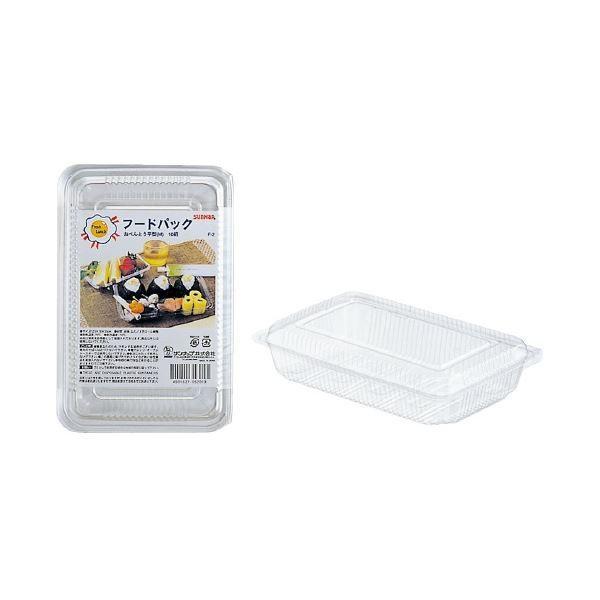 (まとめ)サンナップ フードパック お弁当平型M 10組(×50セット)