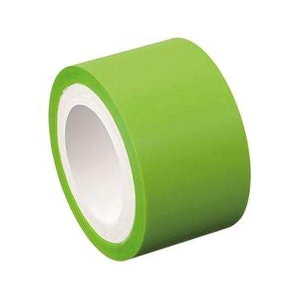 (まとめ)ヤマト メモック ロールテープフィルムタイプ つめかえ用 25mm幅 フレッシュグリーン RF-25H-10N 1巻〔×50セット〕