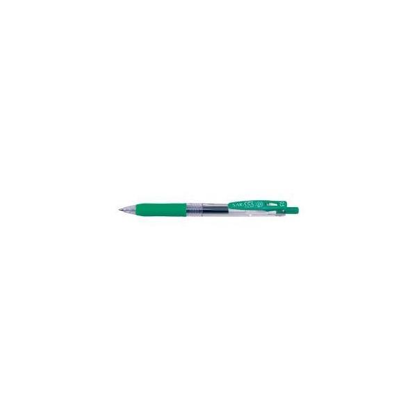 (まとめ) ゼブラ サラサクリップ ボールペン 0.5mm 緑 〔×50セット〕