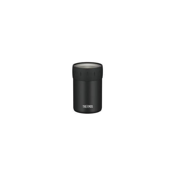 〔12個セット〕 〔THERMOS サーモス〕 保冷 缶ホルダー 〔350ml缶用 ブラック〕 真空断熱ステンレス魔法びん構造