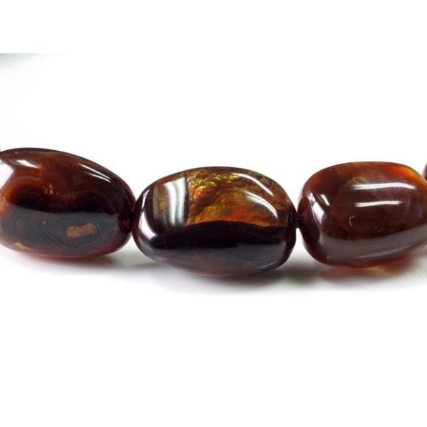 最高級(5A) ファイヤーアゲート イレギュラーブレスレット  No.5 パワーストーン 天然石