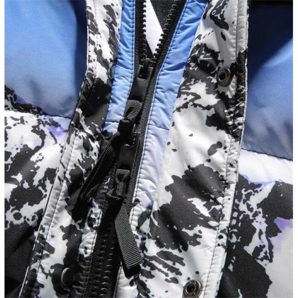 ダウンジャケット メンズ 中綿コート マウンテンパーカー アウトドア ブルゾン 厚手フード付き アウター 防寒|forestjapan|07