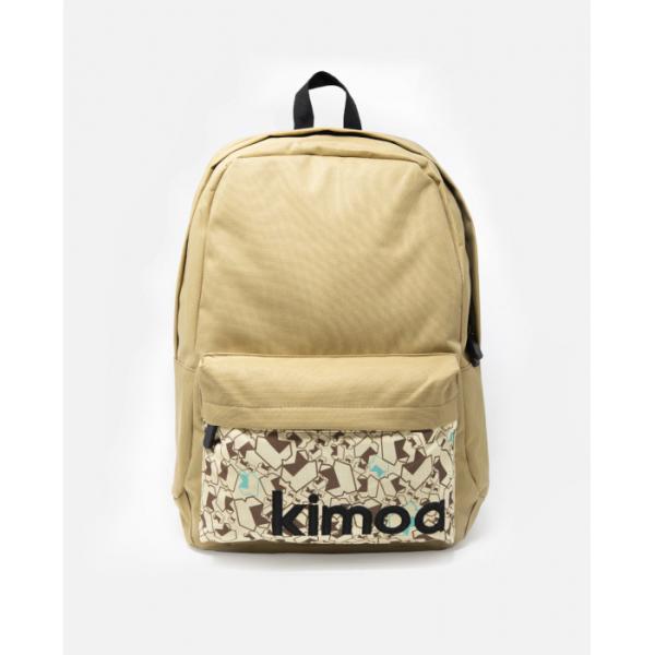 【40%OFFセール】 KIMOA キモア MOCHILA CENOZOIC バックパック リュックサック バッグ ブランド 通学 通勤 フェルナンド アロンソ カーキ