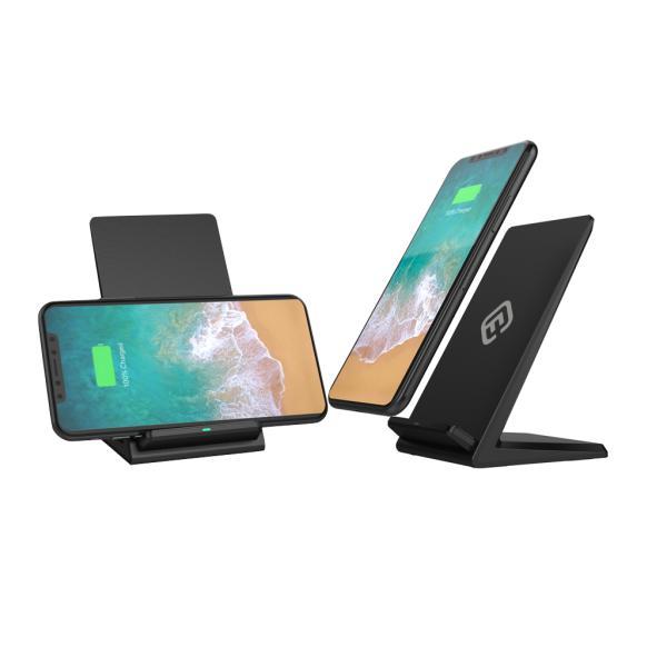 ワイヤレス充電器 iPhone 急速 スタンド ワイヤレス充電 急速充電 Qi 2コイル 無線充電器 Android iPhone SE iPhone11 11Pro ProMax XR XS 40s FIS1 forties 17