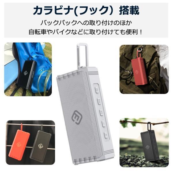 アウトレット Bluetoothスピーカー ブルートゥース 防水 高音質 重低音 おしゃれ 大音量 SD iphone ワイヤレス スマホ ポータブル 40s HW1|forties|17