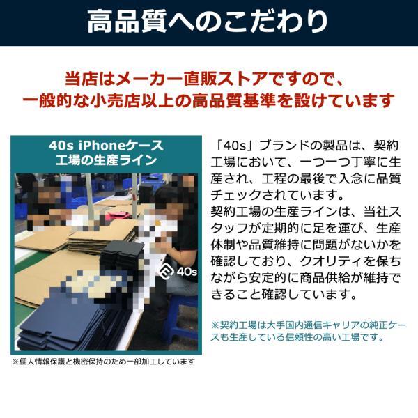 ポイント消化 iPhone XR ケース 手帳型 耐衝撃 スタンド機能 薄型 スタンド機能 カード収納ポケット Qi対応 シンプル おしゃれ iPhoneXR スマホケース 40s|forties|06