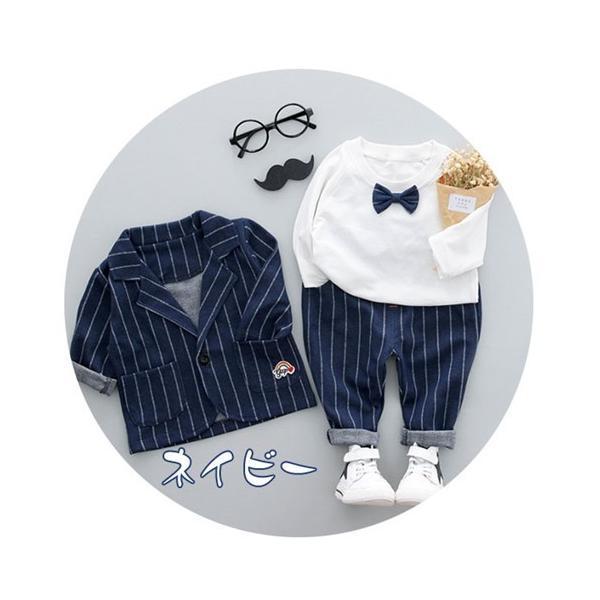 フォーマルスーツ 男の子 ベビー 3点スーツ 結婚式 ベスト/ズボン/シャツ キッズ 卒園式 入学式 入園式 フォーマル スーツ タキシード fortuna-gemma 05