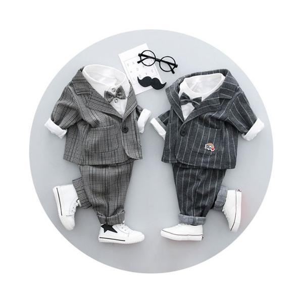 フォーマルスーツ 男の子 ベビー 3点スーツ 結婚式 ベスト/ズボン/シャツ キッズ 卒園式 入学式 入園式 フォーマル スーツ タキシード fortuna-gemma 06