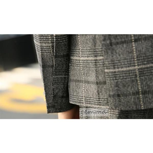 フォーマル スーツセット ジャケット パンツ  子供スーツ フォーマル 七五三 結婚式 発表会 入学式  イベント チェック 120-160cm|fortuna-gemma|08