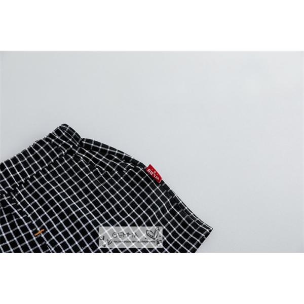 子供スーツ セットアップ キッズ タキシード  フォーマルスーツ シャツ  男の子  ベストTシャツ 重ね着 半袖 結婚式 誕生日 夏|fortuna-gemma|12