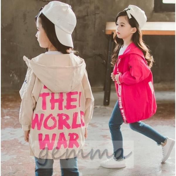 ウィンドブレーカー キッズ 女の子 アウター 子供服 ジップアップパーカー マウンテンパーカー ジャケット ブルゾンジャンパー 防風 fortuna-gemma 02