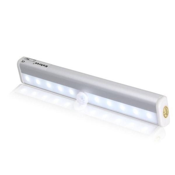 センサーライト 室内 屋内 LED 人感 led流し元灯 センサー 階段ライト 玄関ライト 廊下 電池式 フットライト 自動点灯 four-piece 18