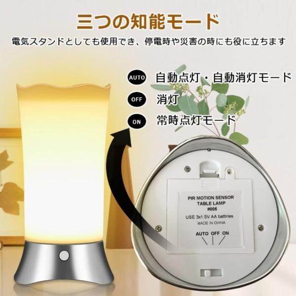 間接照明 センサーライト 屋内 屋外 おしゃれ インテリア LED フットライト 人感センサー おしゃれ 電池式 明るい 室内 玄関 寝室 廊下 階段 ナイトライト|four-piece|12