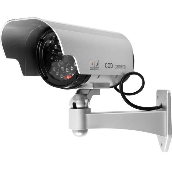 防犯カメラ 家庭用 屋外 屋内 ワイヤレス ダミー カメラ 電源不要 小さい ステッカー 付属 LED 点灯 電池式|four-piece|08