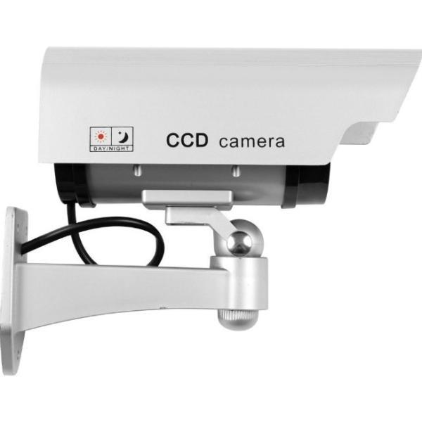 防犯カメラ 家庭用 屋外 屋内 ワイヤレス ダミー カメラ 電源不要 小さい ステッカー 付属 LED 点灯 電池式|four-piece|09