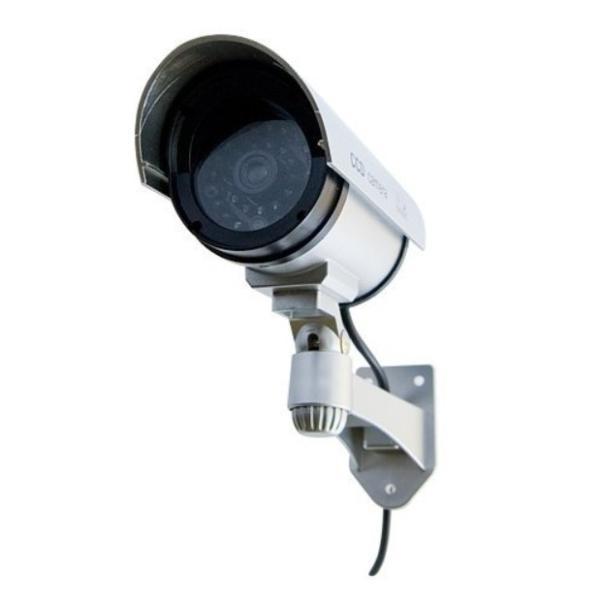 防犯カメラ 家庭用 屋外 屋内 ワイヤレス ダミー カメラ 電源不要 小さい ステッカー 付属 LED 点灯 電池式|four-piece|10