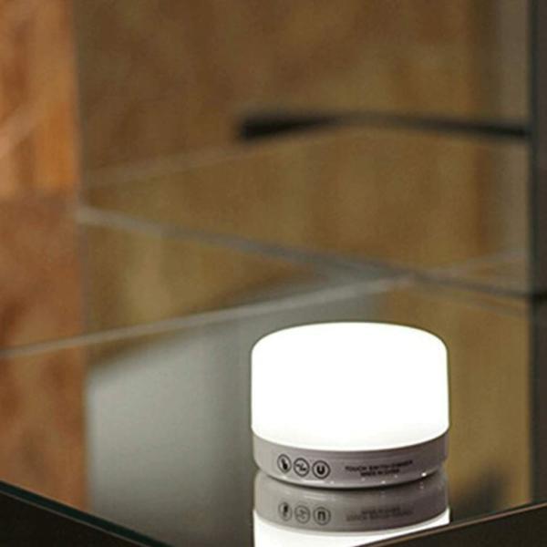 ナイトライト LED 調光 タッチライト 間接照明 おしゃれ USB充電 寝室 リビング 授乳 フットライト テーブルランプ 北欧 コードレス シンプル 2個セット four-piece 10