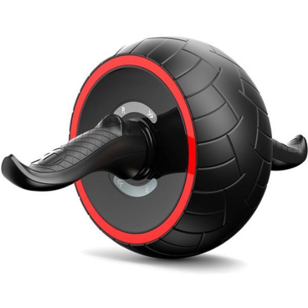 腹筋ローラー マット アシスト 機能 セット 初心者 上級者 静音 自動 筋トレ器具 一輪 エクササイズ トレーニング  マシン  アシスト付き マット付き|four-piece|16