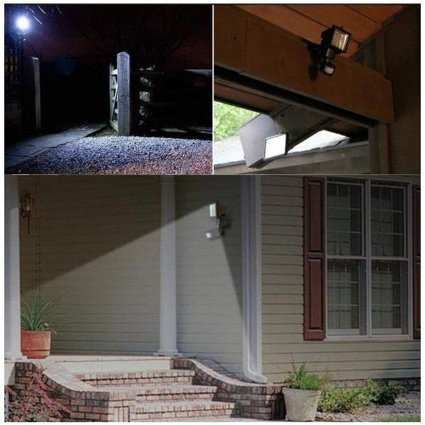 センサーライト 屋外 60 LED ソーラー ライト 人感センサー 玄関ライト 防犯ライト 防水 防雨|four-piece|08