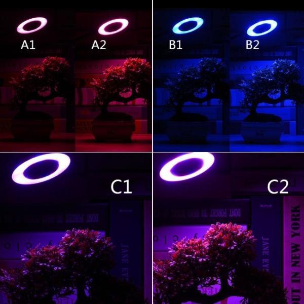 植物 ライト LED クリップ式 USB充電 観葉植物 多肉植物 おしゃれ インテリア 育成 成長促進 ランプ 光合成 日光 光 家庭菜園 日照不足 解消 水草栽培 室内栽培|four-piece|05