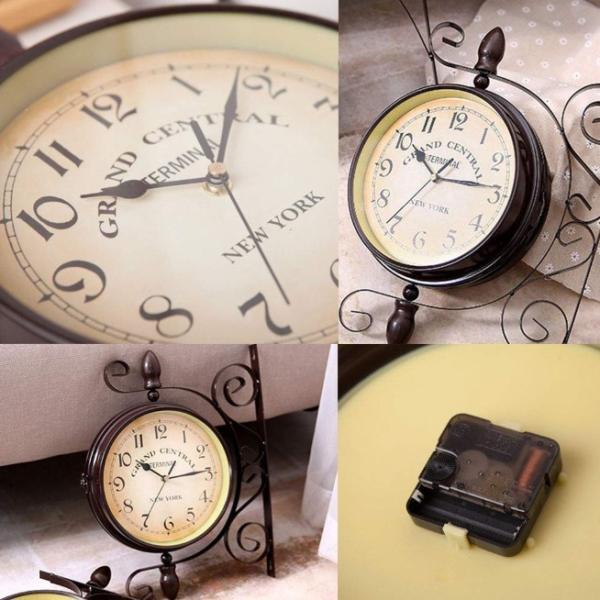 時計 壁掛け おしゃれ 北欧 壁掛け時計 アンティーク 大型 インテリア 小物 ヨーロッパ 雑貨|four-piece|07