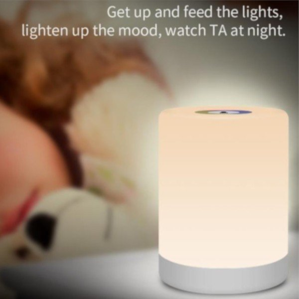 インテリア ライト 7色 間接照明 コードレス おしゃれ 北欧 LED 寝室 リビング ベッドサイドランプ テーブルランプ インテリア 照明 ナイトライト USB充電 four-piece 12