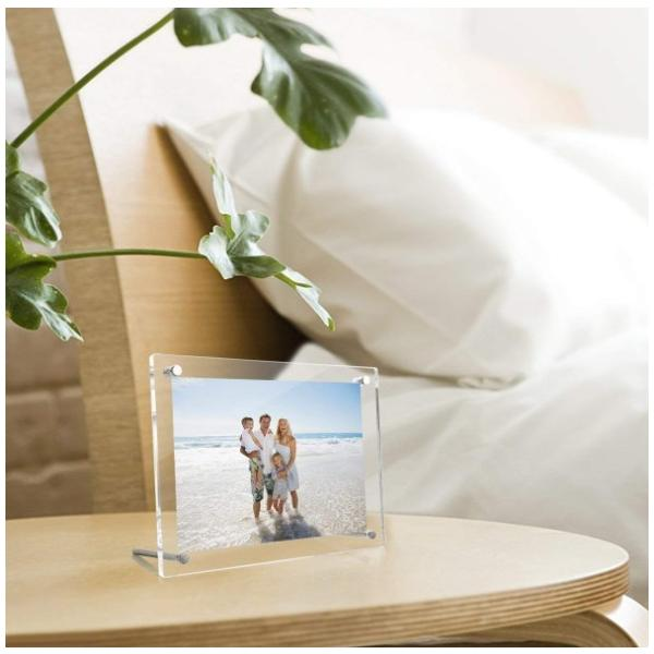 フォトフレーム おしゃれ A4 アクリル スタンド クリア 結婚 出産 誕生日 写真 four-piece 11