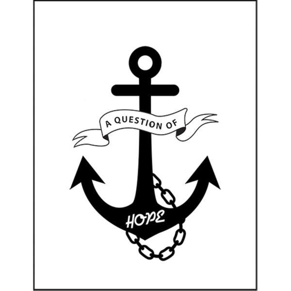 【アンカー・ロゴ・HOPE・希望】ポストカード