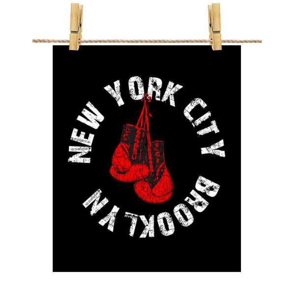 ポストカード ボクシング ニューヨーク チャンピオン by Fox Republic