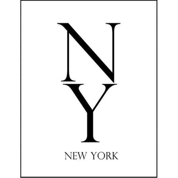 【ニューヨーク NYロゴ】ポストカード