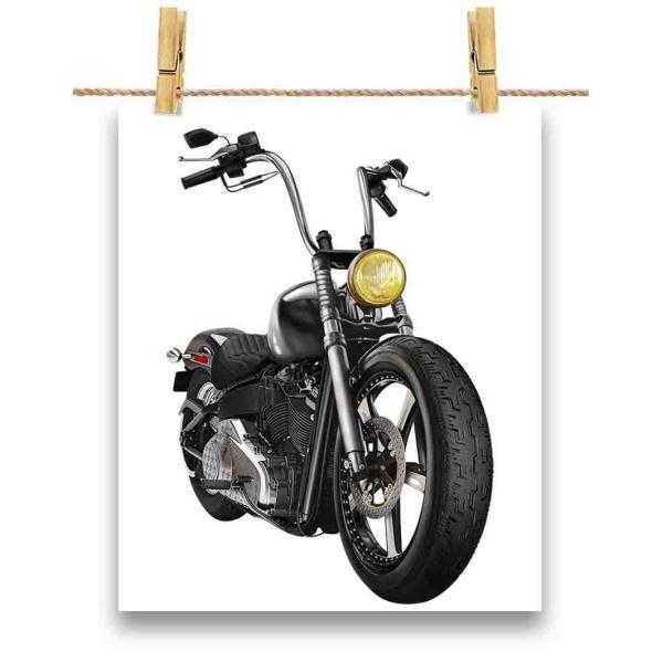 ポストカード バイク バイカー by Fox Republic