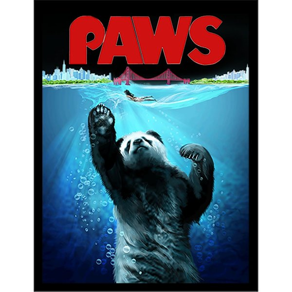 【海を泳ぐパンダ】ポストカード