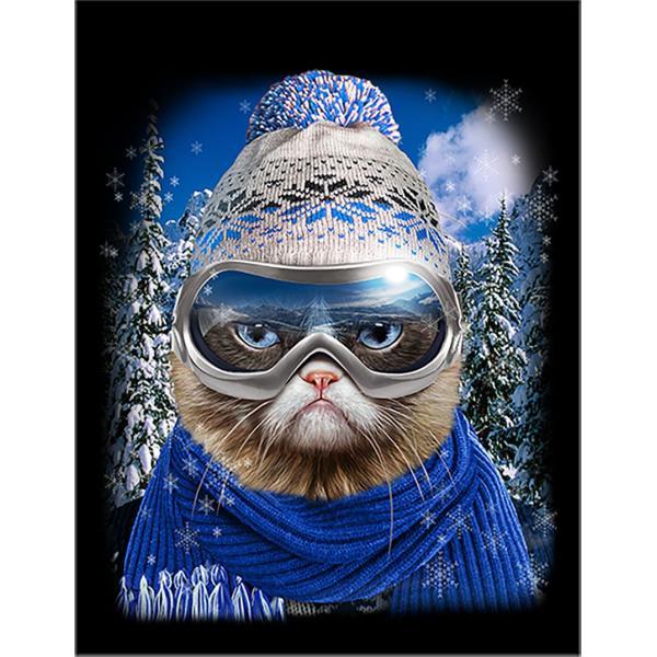 ポストカード メリー クリスマス セーター トナカイ by Fox Republic