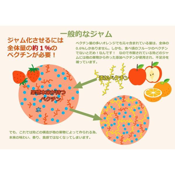 もも ジャム 内容量 132g 桃 モモ たまき ナポレオン ブランデー ペクチン・保存料・着色料 無添加|foxyflavor|06