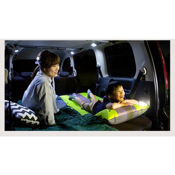 ハスラー 車中泊 マット エアマット 2枚セット キャンプ アウトドア キャンピング 仮眠 お昼寝 車 釣り 休憩 エアーマット  寝袋 BBQ バーベキュー|fpj-mat|13