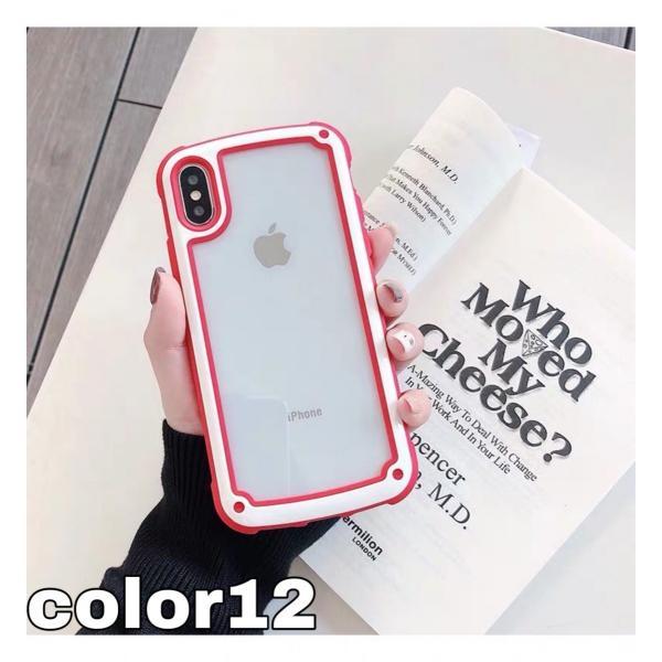 iphoneXRケース iPhone Xs Max  iPhone8ケース クリア おしゃれ アイフォン8 ケース iPhone7 耐衝撃  ケース 透明 スマホ携帯ケース スマホカバー   軽量|francekids|29