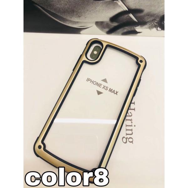 iphoneXRケース iPhone Xs Max  iPhone8ケース クリア おしゃれ アイフォン8 ケース iPhone7 耐衝撃  ケース 透明 スマホ携帯ケース スマホカバー   軽量|francekids|25