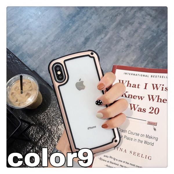 iphoneXRケース iPhone Xs Max  iPhone8ケース クリア おしゃれ アイフォン8 ケース iPhone7 耐衝撃  ケース 透明 スマホ携帯ケース スマホカバー   軽量|francekids|08